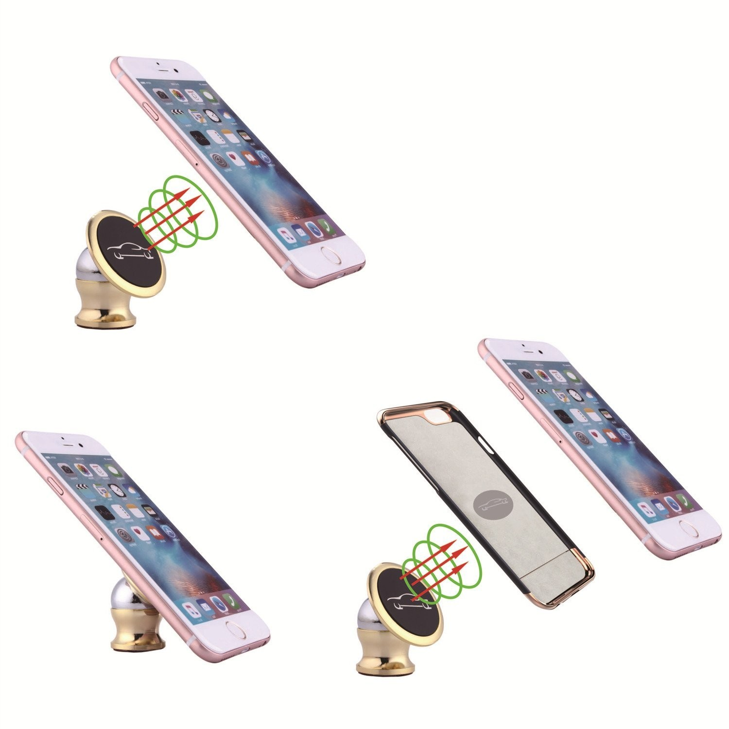 Best magnetic car mount for iphone 6 plus